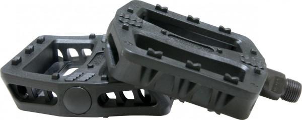 QU-AX Cross PVC Pedale schwarz