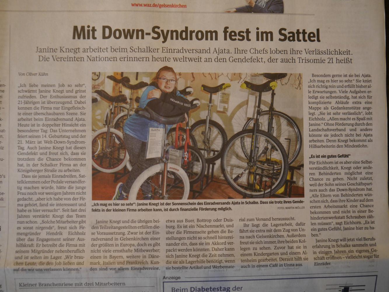 Zeitungsartikel-Janine