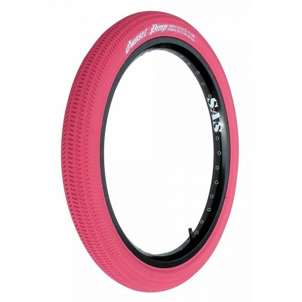 Gusset Reifen 20 x 2.1 Zoll (57-406mm) pink