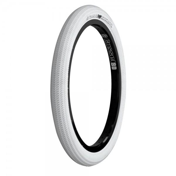 Gusset Reifen 20 x 2.1 Zoll (57-406mm) weiß