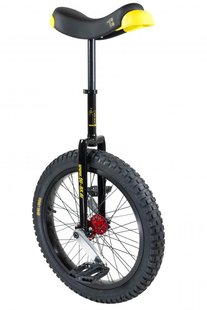 Einrad OnlyOne 20 Zoll rot Alufelge Reifen schwarz