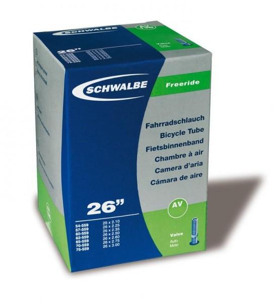 Schwalbe Schlauch AV 13F TR 4 Freeride 26 x 2.1-3.0 Zoll (54/75-559mm)