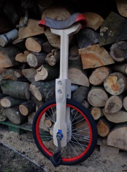Holz-Einrad