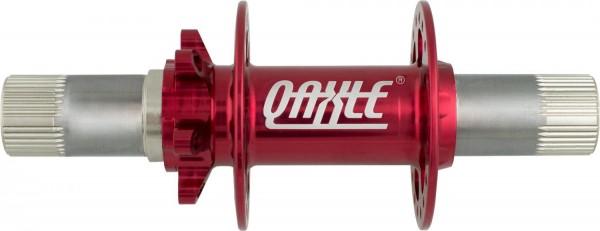 QU-AX Q-Axle Disc Nabe 36 Loch rot