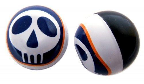 Ventilkappe Skull Logo