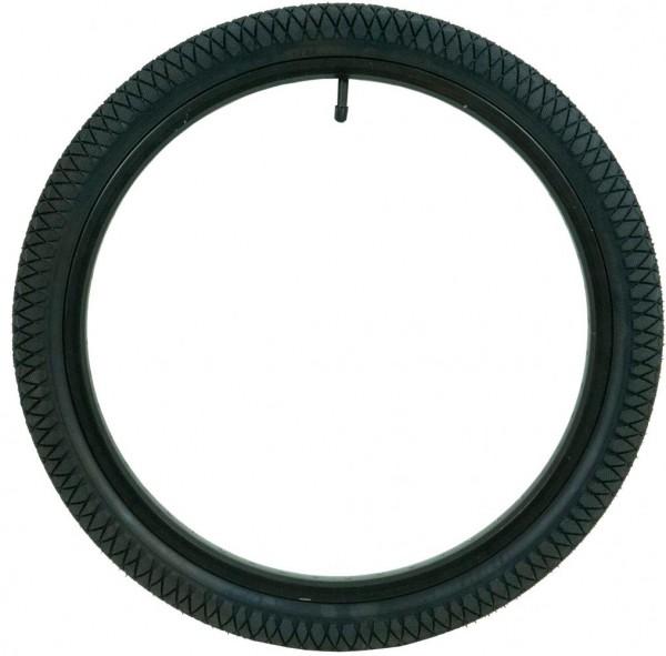 QU-AX Standard Reifen 18 x 1.75 Zoll (47-355mm) schwarz