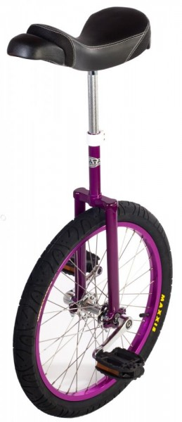 "AJATA StandUp ""purple edition"" Einrad 20 Zoll (406mm)"