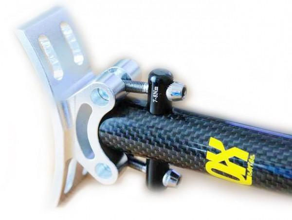 QX series Sattelstütze 25.4mm Carbon (Rail Type)