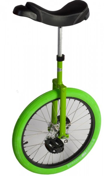 "AJATA StandUp ""lime green edition"" Einrad 20 Zoll (406mm)"