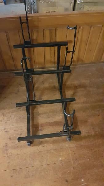 Einradständer 4 Fach für 16 bis 26 Zoll Einräder